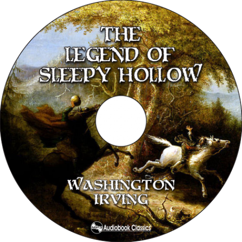 The Legend Of Sleepy Hollow By Washington Irving Mp3 Cd Audiobook In Dvd Case