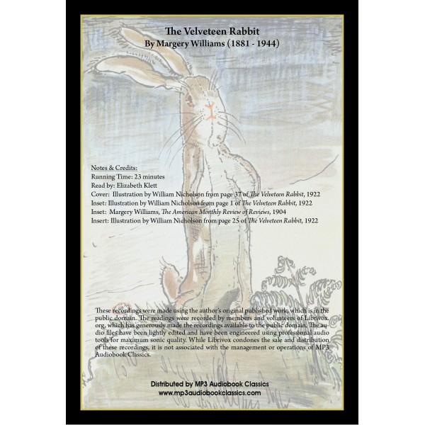 velveteen rabbit book and audio cd